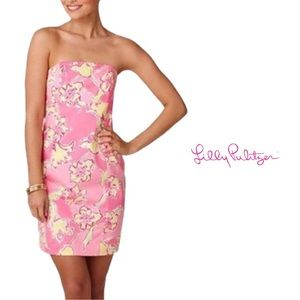 Lilly Pulitzer Franco Dress Hotty Pink Size 2
